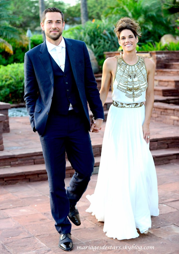 Zachary Levi & Missy Peregrym