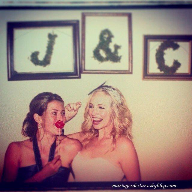 Candice Accola & Joe King