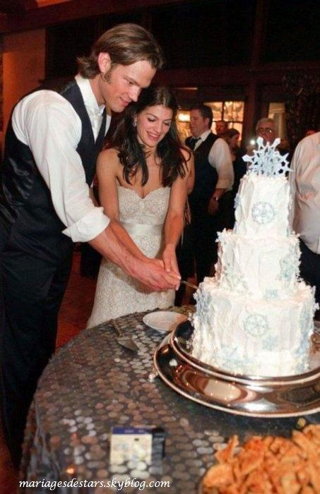 Jared Padalecki & Genevieve Cortese