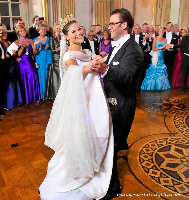 Victoria de Suède & Daniel Westling