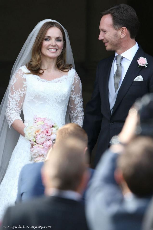 Geri Halliwell & Christian Horner
