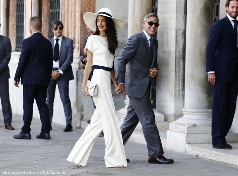George Clooney & Amal Alamuddin