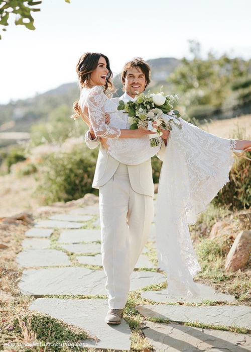Ian Somerhalder & Nikki Reed