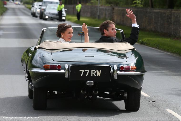 Pippa Middleton & James Mathhews