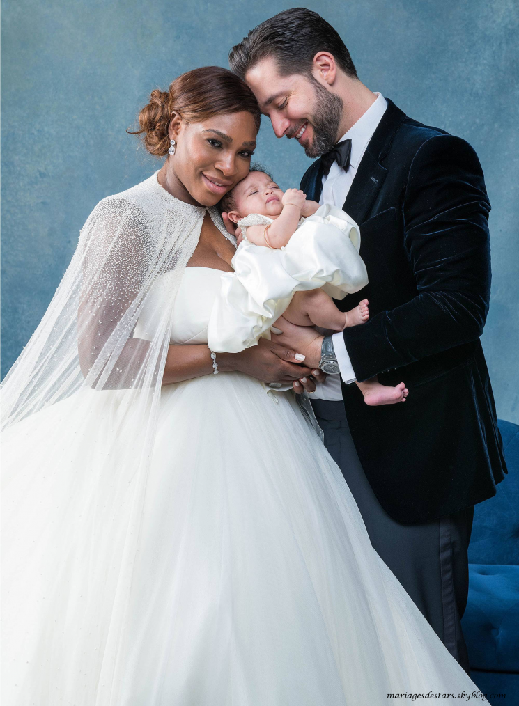 Serena Williams & Alexis Ohanian