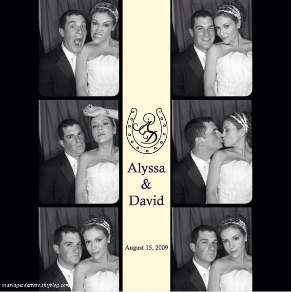 Alyssa Milano & David Bugliari