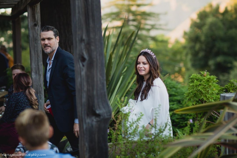 Holly Marie Combs & Mike Ryan