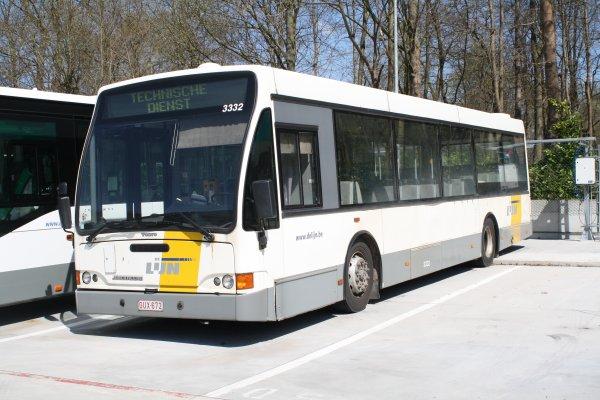 Bus série 33** du dépot d'Overijse.