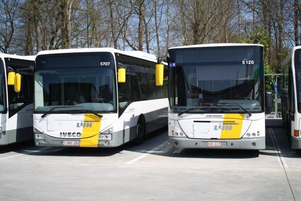 Bus série 57** du dépot d'Overijse.