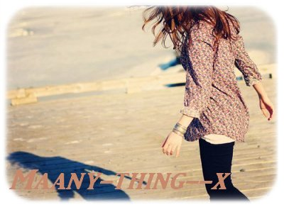 Maany-thing--x  ~