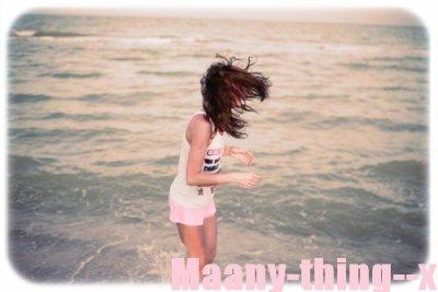 Maany-thing--x  ~    - J'ai peur de te perdre...   -Tu veux un GPS?