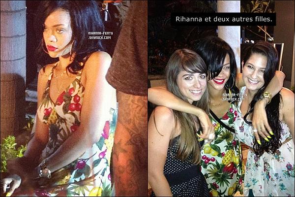 ' 25/05/2012: Notre jolie Rihanna a été vue quittant le club « My Studio » dans la nuit à Los Angeles. TOP !  '