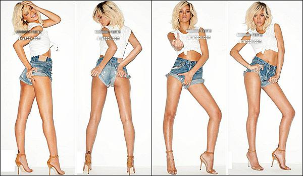 '  11/06/2012 : La belle Rihanna Fenty à était aperçu sortant de son hôtel à New-York. Un petit top ! '