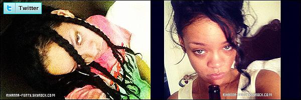11.07.2012 : Rihanna à été vue se relaxant sur une des plages privés de son île natale.