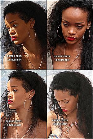 23.07.12 : Rihanna Fenty à été aperçue en train de faire du shopping à Saint Tropez.