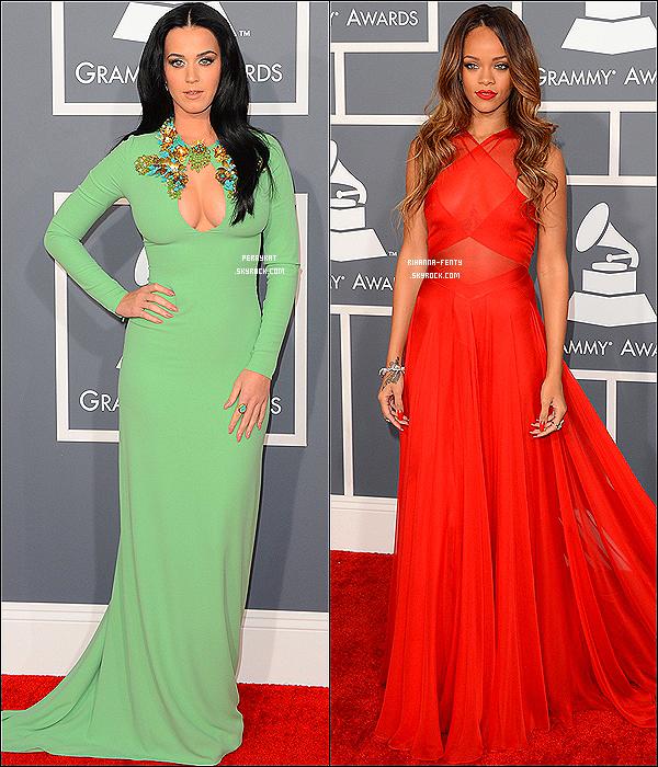 ... RIHANNA ET KATY PERRY : UNE HISTOIRE D'AMITIÉ MISE EN PÉRIL ! Découvrez Rihanna et Katy ensemble ( Ici & Ici ) Dossier complet ! ... . Rihanna et Katy Perry étaient sans doute les deux meilleures amies les plus médiatisées du monde. Pourtant depuis quelques mois, les deux jeunes femmes ont l'air d'être en froid... En effet leur dernière apparition ensemble remonte à Septembre 2012 lors des MTV Video Awards. Pourtant, Riri et Katy était présente à la cérémonie des Grammy's Awards le 10 février, mais ne ce sont même pas adresser la parole. Cela aurait-il un rapport avec la dernière relation de la jeune barbabienne ? Sans aucun doute, car tout le monde sait que Rihanna vit un rêve éveillé avec son boyfriend... Chris Brown ! Rapellez-vous, en 2009, Chris Brown avait battu Rihanna jusqu'a ce que cette dernière elle le visage boursouflé de coup. Visiblement, Riri aurait pardonné à son beau Chris, mais ce n'est pas au goût de Katy qui n'aurai pas pardonné ses coups à ce dernier. En effet, notre California Gurls ne voit pas cette relation d'un bon oeil, et aurait donc mis en garde sa BFF de l'époque... Visiblement, Rihanna a choisi son camp et à choisi de vivre son amour avec Chris à la vue de tout le monde. Mais cela ne s'arrete pas là. Katy est actuellement en train de travaillé sur son 4ème album où un featuring avec la princesse du RnB était en préparation. Alors, vera-t-on sur le nouvel album de Katy le featuring avec Rihanna où les deux jeunes femmes ont-elles véritablement couper les ponts ? Affaire à suivre... Article en collaboration avec PerryKat.sky' !