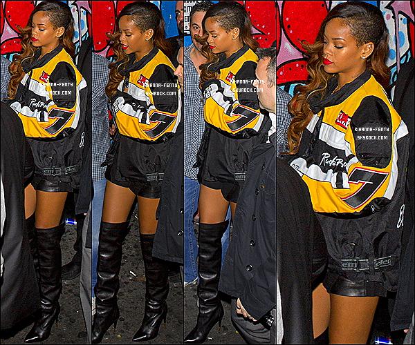 02 Mars 2013 : Rihanna Fenty à été photographiée hier soir arrivant au club « Playhouse » à Los Angeles.  le compte Youtube de Rihana  vient de dévoiler la tout premier vidéo des préparatif du « Diamonds World Tour » les audition Ici