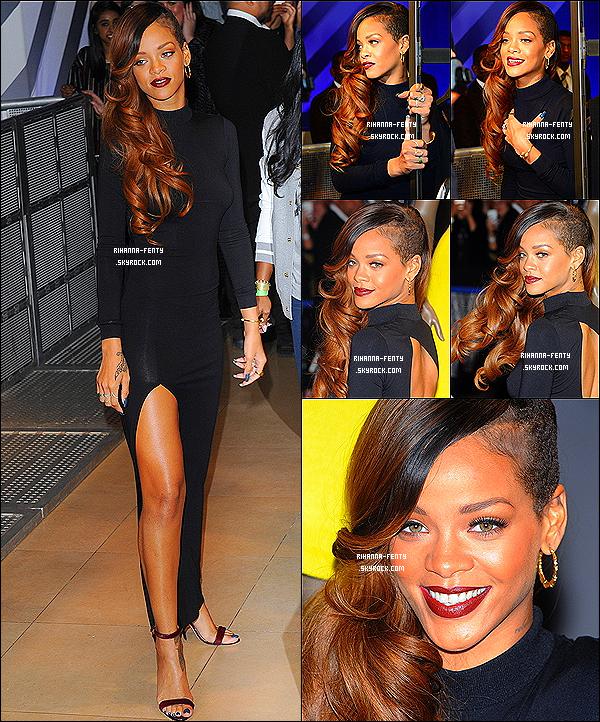 04/03/13: Rihanna était bien présente au lancement de sa collection pour « River Island » à Londres. On revoit notre Rihanna plus tard  habillée d'un look décontracté à L'after-Party « Rihanna for River Island » à Londres .