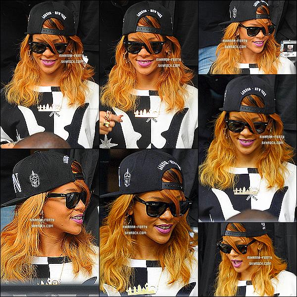 _ 23/06/2013 : Rihanna a été vue quittant son hôtel à Amsterdam pour se rendre sur la scène du  « Ziggo Dome ». -