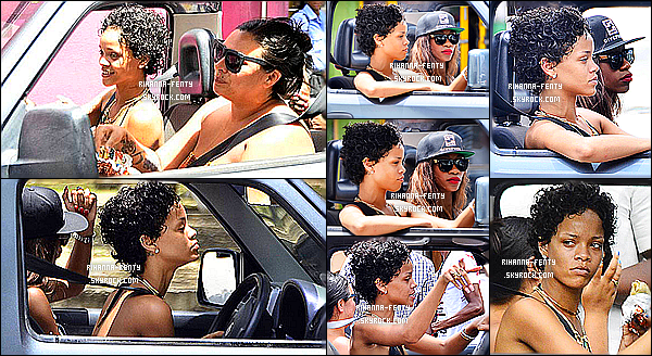 _ 11/08/2013 : Rihanna a été aperçue alors qu'elle quittait un club à Miami en compagnie de ses amis. Top or Flop? -