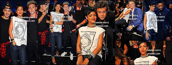 _ 25/08/2013 : Rihanna F. a été aperçue alors qu'elle quittait son hôtel avec sa meilleure amie Melissa à New York.La belle Rihanna F. s'est rendue à la cérémonie des MTV Vidéo Music Awards avec sa meilleure amie Melissa à Brooklyn (New York).  -