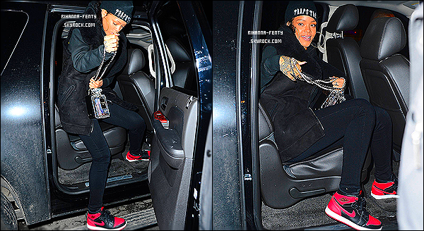 _ 06/01/2014 : Rihanna Fenty s'est rendue dîner à son restaurant italien préféré, le  « Da Silvano » à New York.  -