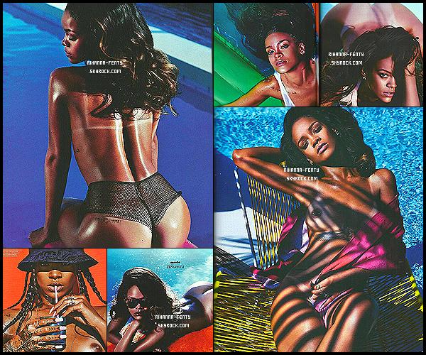 • • Rihanna pour le magazine  « LUI » Le préférez-vous à celui de « Vogue Brésil »  ? • •