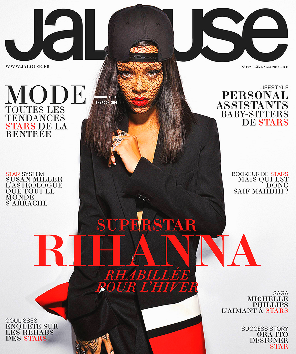 _ RIHANNA FAIT LA COUVERTURE DU MAGAZINE« JALOUSE » à paraître le 26 juin , Vous aimez?   -