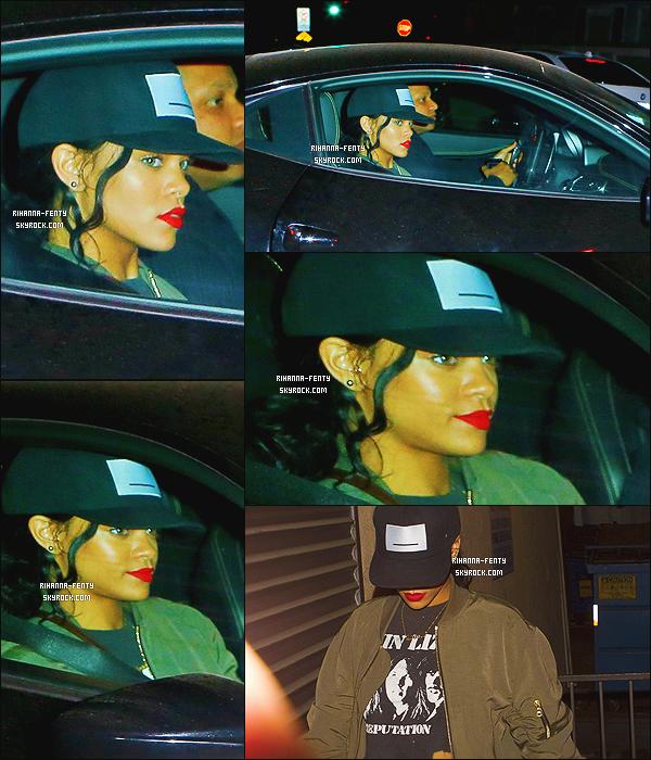 _ 19/07/2014 : Rihanna a été aperçue au restaurant « Giorgio Baldi » -