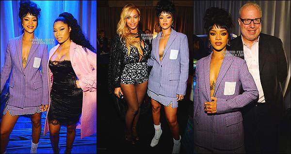 '  30/03/2015 - Rihanna a assisté au lancement de la nouvelle plateforme de streaming musical « Tidal » à NY.  '