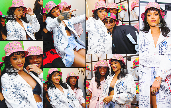 ' 30/03/2015 - Rih a assisté au lancement de la première collection de bobs de sa meilleure amie Melissa à NY.  Le lancement de la ligne « M$$ XWT » a été élaborée en collaboration avec le groupe vestimentaire Opening Ceremony.Vous aimez sa tenue? '