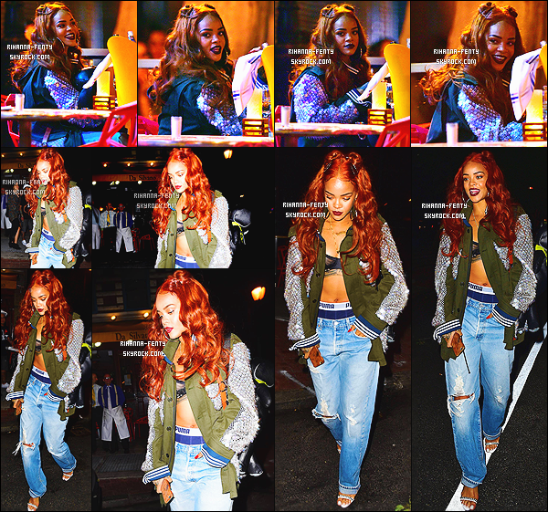 _ 26/05/15 : Rihanna a été vue en début d'après-midi dans les rues de Londres pour se rendre dans un batiment.