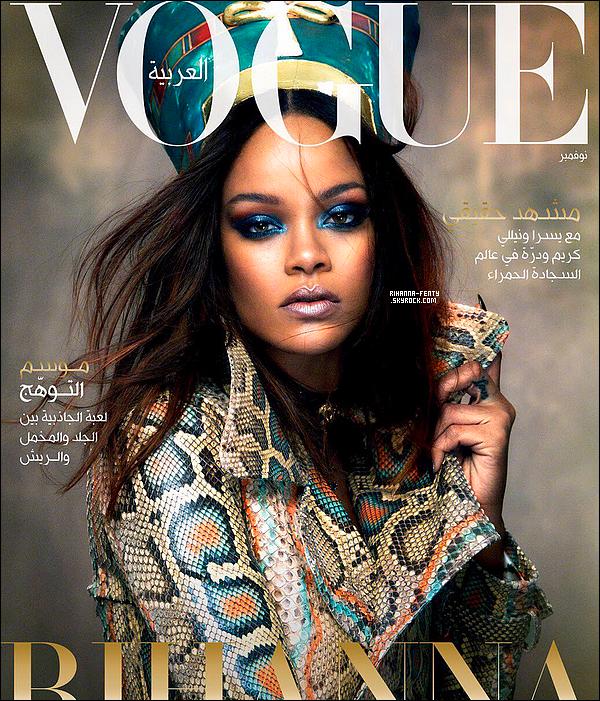 _ Découvrez Rihanna pour le magazine  « Vogue Arabia ». Qu'en pensez-vous?