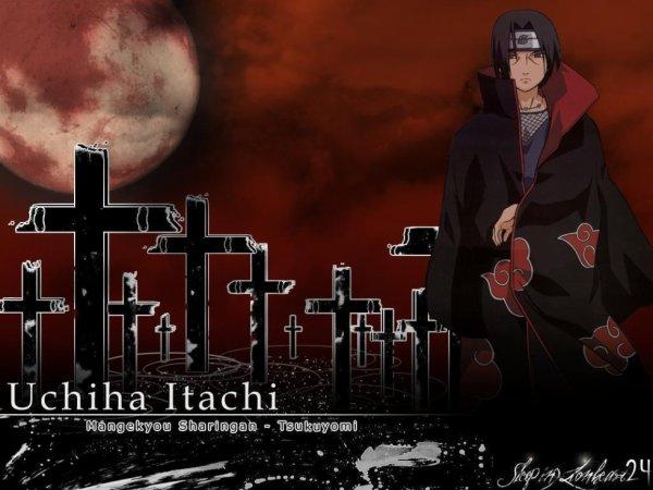 Itachi et son tsukuyomi