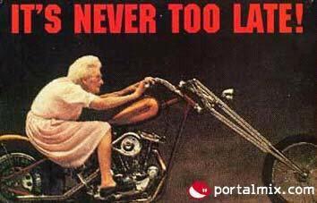 Blague : mamy a moto !