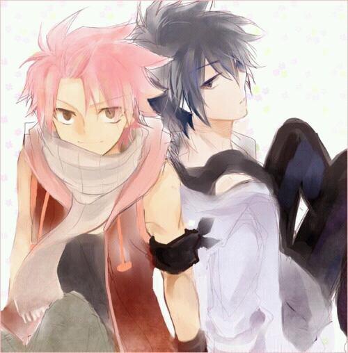 Natsu & Grey.