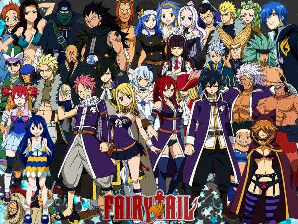 Qui est ton personnage préféré dans Fairy Tail ???