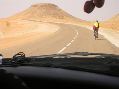 Les cols au coeur du Sahara