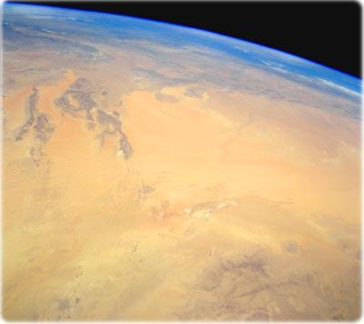 Le Sahara, un point de vue de l'espace !