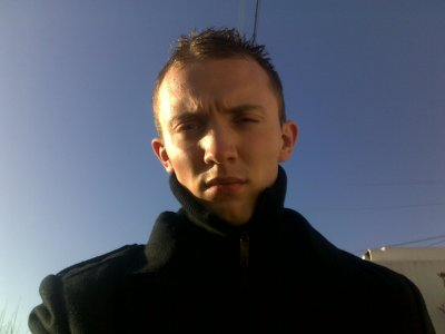 moi avec le soleil en pleine face!^^