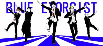New Manga  : Ao No Exorcist ;)