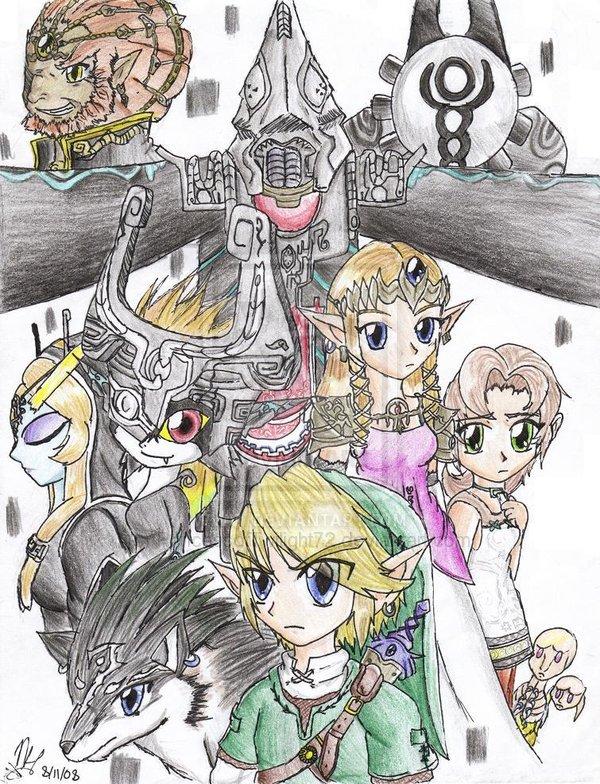 midona qome mon chat link et zelda et link le loup de midona - Link Et Zelda