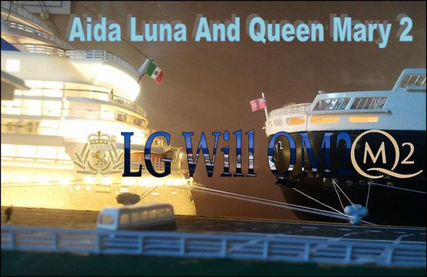 1 : Aida Luna And Queen Mary 2