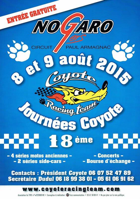 rendez vous ce week end au coyote sur le stand fête d'la mobylette