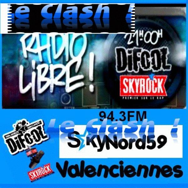 Douai 96.2 FM Dunkerque 91.1 FM Lille 94.3 FM Maubeuge 96.3 FM Valenciennes 94.3 FM