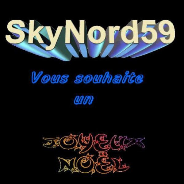 SkyNord59, vous souhaite un Joyeux Noël