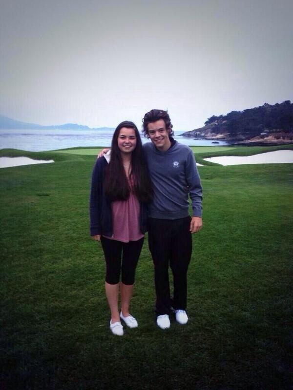 Harry et une fan hier!