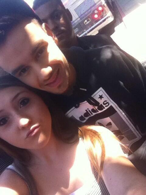Liam hier avec une fan à Pleasanton!