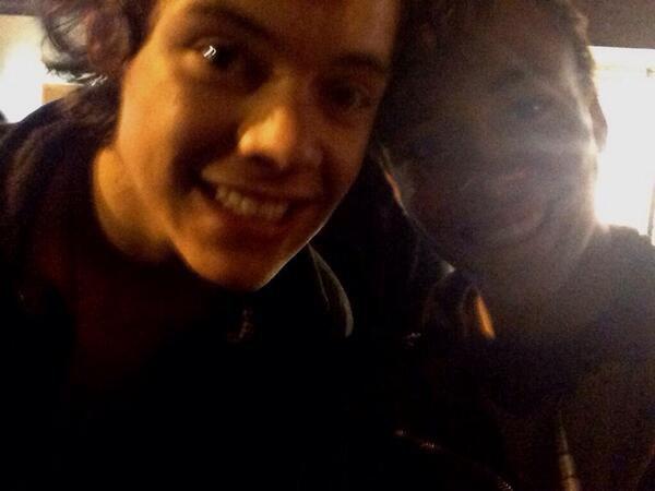 Harry et une fan aujourd'hui!