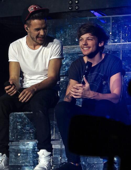 Liam et Louis à Oakland cette nuit!